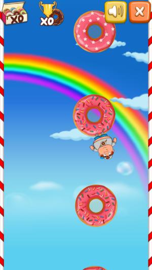 糖果派对甜甜圈游戏