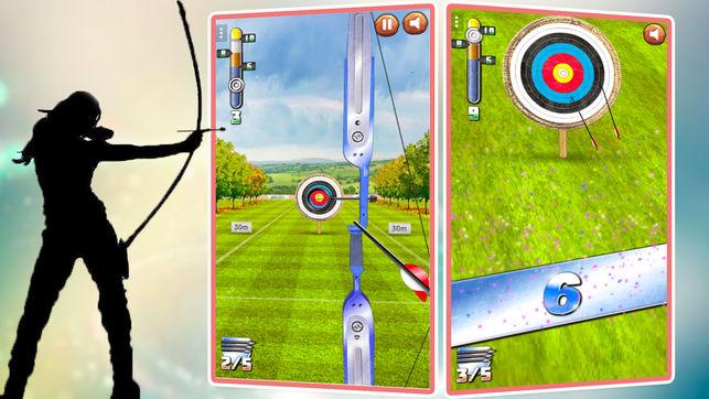 射箭射击游戏:弓箭手射击游戏
