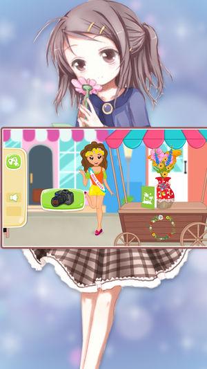 单机公主游戏:芭比娃娃经营花店女生游戏