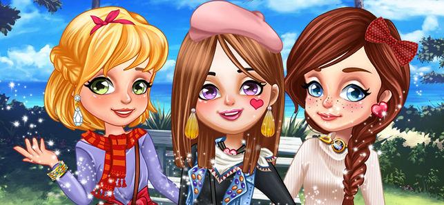 三个小公主的时尚情人节