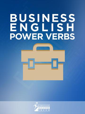 Business English Power Verbs