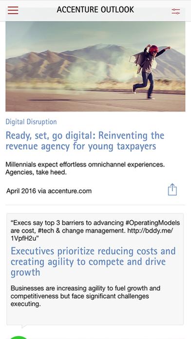 Accenture Outlook