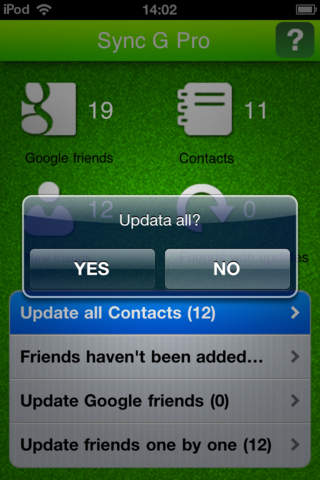 Contacts Sync for Google