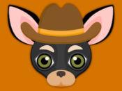 Black Tan Chihuahua Emoji Stickers for iMessage 1.1