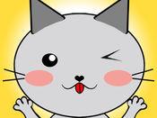 Cat - Set of beautiful cute emoji emotions