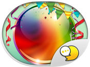 Colorful Stickers & Emoji for iMessage ChatStick 1