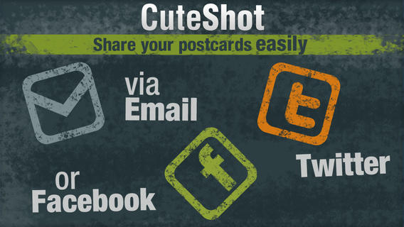CuteShot - Awesome Postcards