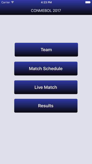 Conmebol Beach Soccer Championship schedule