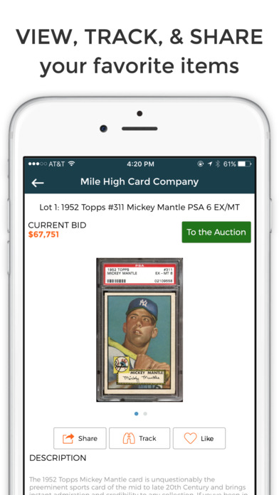 Collectable - Sports Auction Marketplace