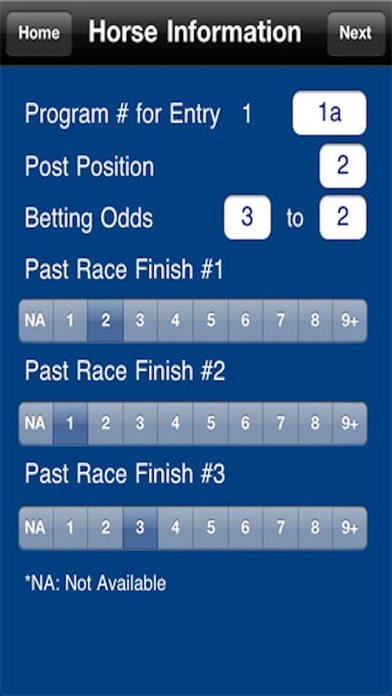 Compucap - Horse Racing Handicapper