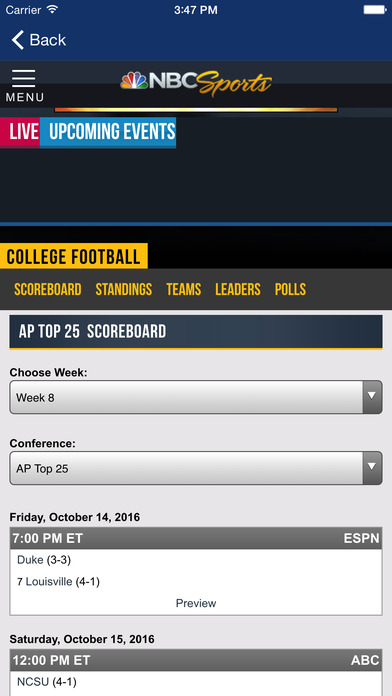 College Football Scoreboard, News and Live Scores