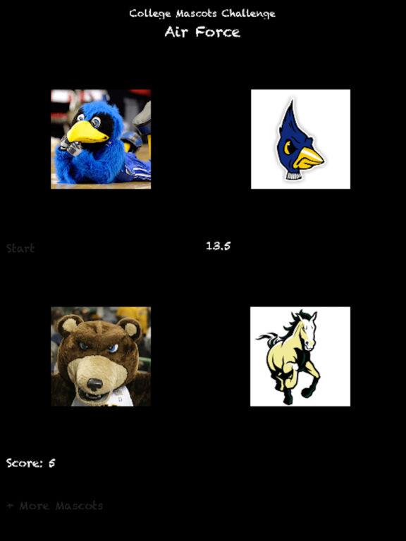 College Mascots Challenge
