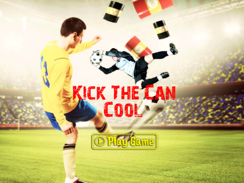 Crazy Free Kick The Can Cool