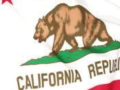 California Flag Stickers 1