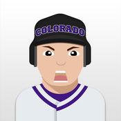 Colorado Baseball Stickers  Emojis