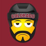 Colorado Hockey Stickers  Emojis