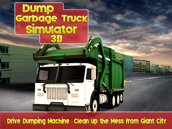 Dump Garbage Truck Simulator 3D – Clean Giant