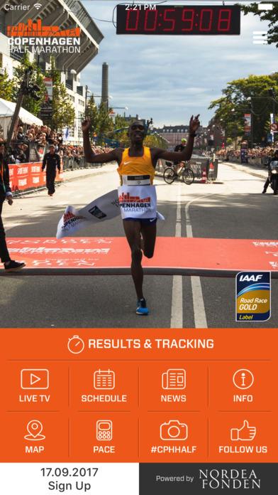 Copenhagen Half Marathon 2017