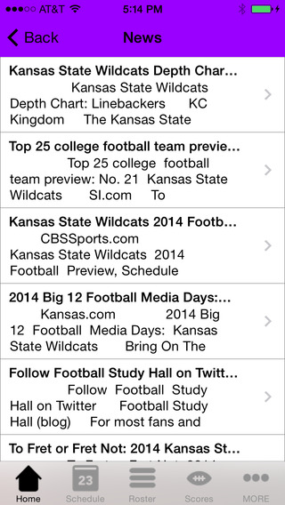 College Sports - Kansas State Football Edition