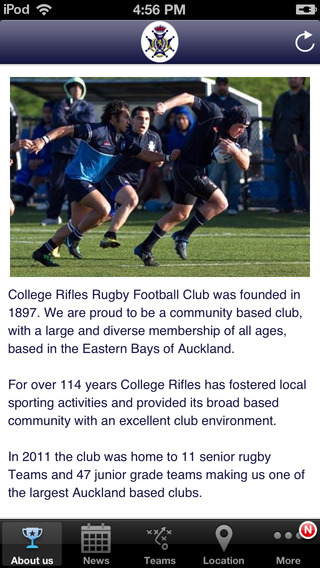 College Rifles Sports