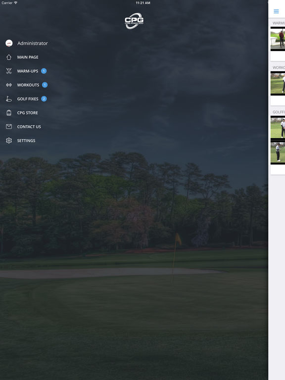 Core Power Golf
