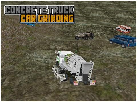 Concrete Truck Car Grinding