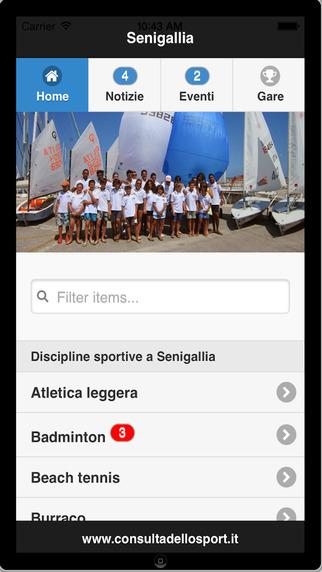 Consulta dello Sport - iPhone Edition