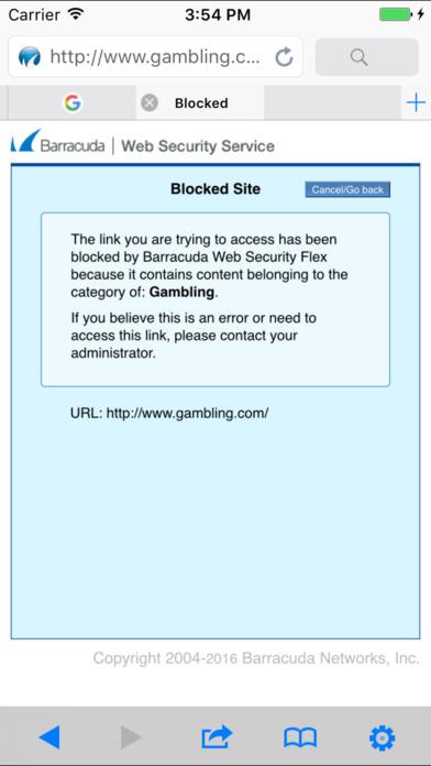 Barracuda Safe Browser