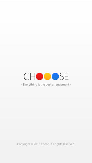 Chooose