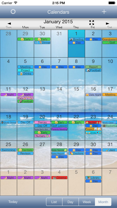 CalendarSkin OldStyle