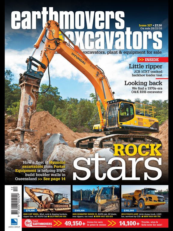 Earthmovers  Excavators