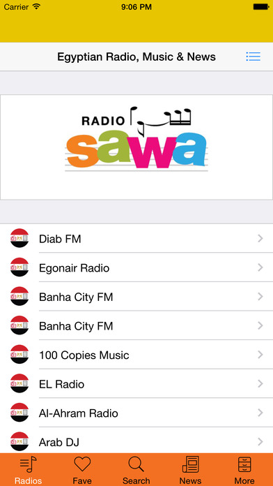 Egyptian All Radio, Music & News Free Download