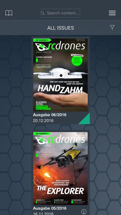 DRONES - Das Magazin für Kopter