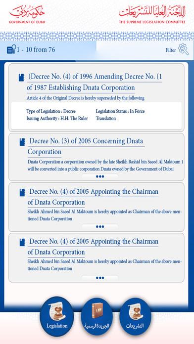 Dubai Official Gazette