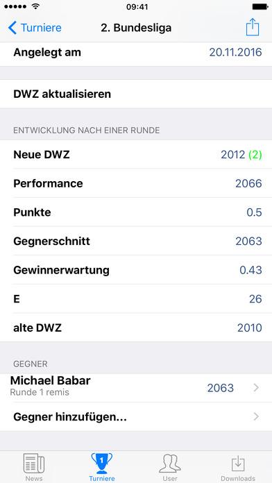 DSB App - App des Deutschen Schachbundes