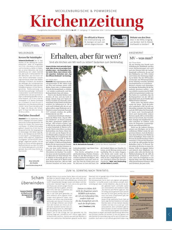 Evangelische Zeitung