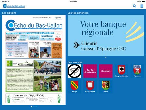 Echo du Bas-Vallon