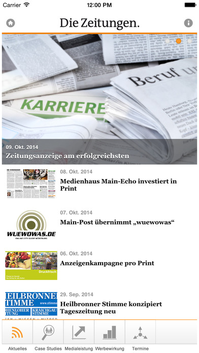 Die Zeitungen