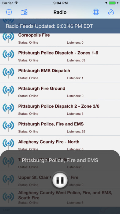 EMS Incidents and Radio