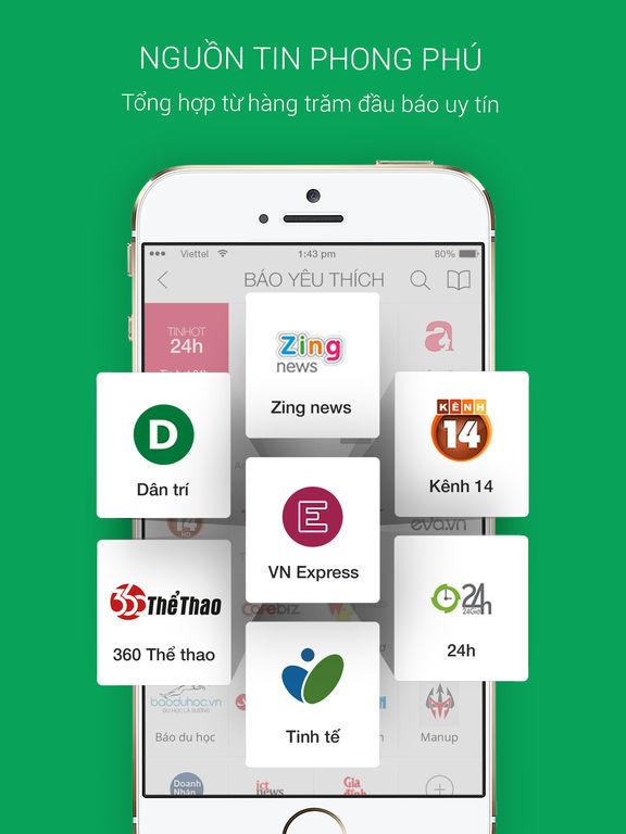 Doc Bao online, Tin tuc 24h
