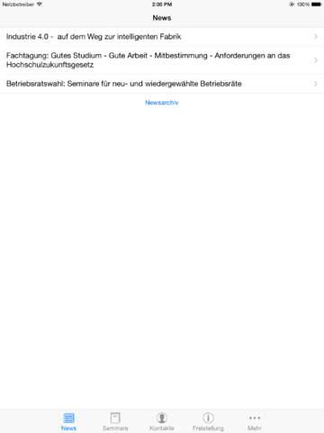 DGB Bildungswerk NRW Seminare