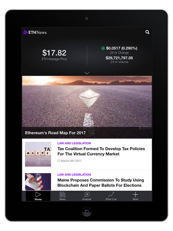 ETHNews - Ethereum News, Resources  Prices