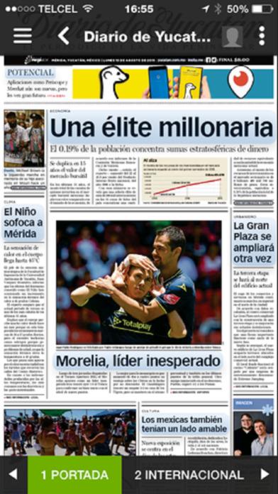 Diario de Yucatán en Insitu