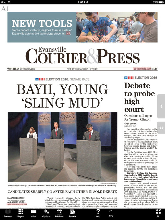 Evansville Courier  Press E-Edition