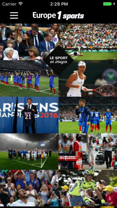 Europe1 Sports - votre appli sport