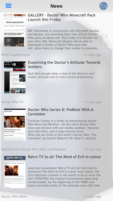 DW WhoNews Lite for Doctor Who