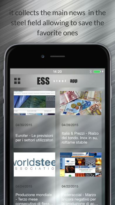 ESS steel App