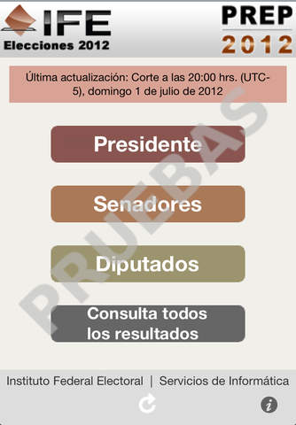 Elección 2012