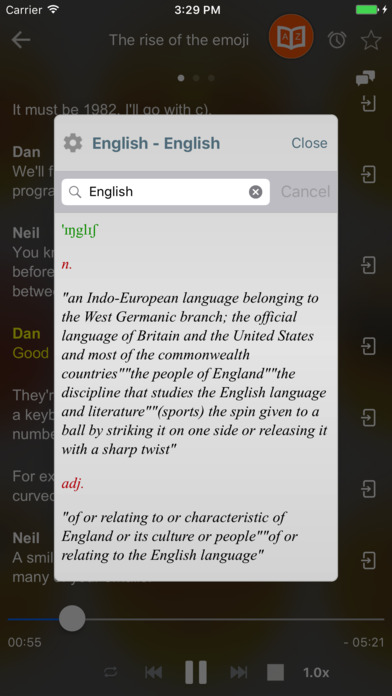 Duolinsten: Learn English by Learning Conversation