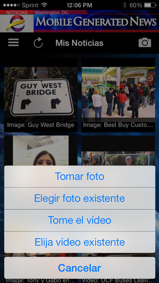 Entravision-Mobile Generated News